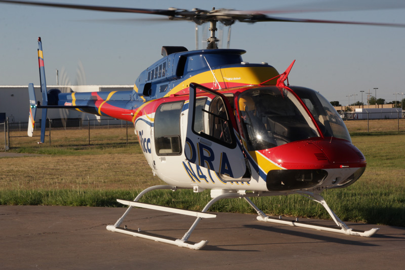 Rico Aviation newest helicopter