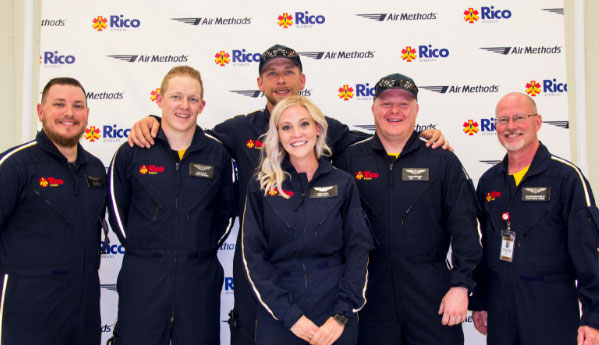 Rico Aviation Team Photo