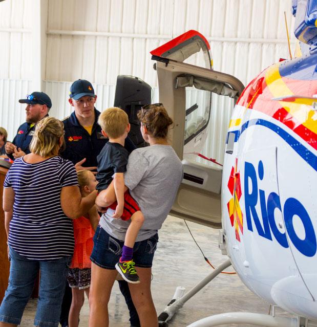 Rico Aviation Press Event Dalhart family tour