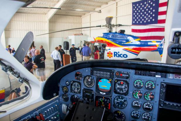 Rico Aviation Press Event Dalhart tour